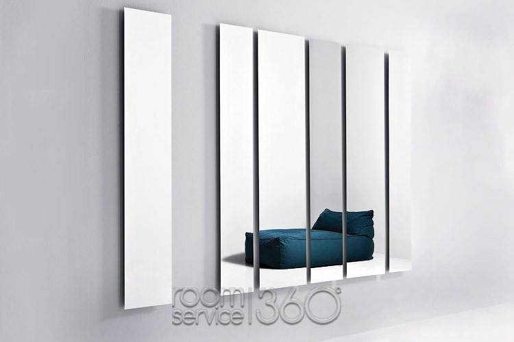 Inspiration about Geometrika Rectangular Designer Wall Mirror With Lightpianca For Oblong Wall Mirrors (#10 of 15)