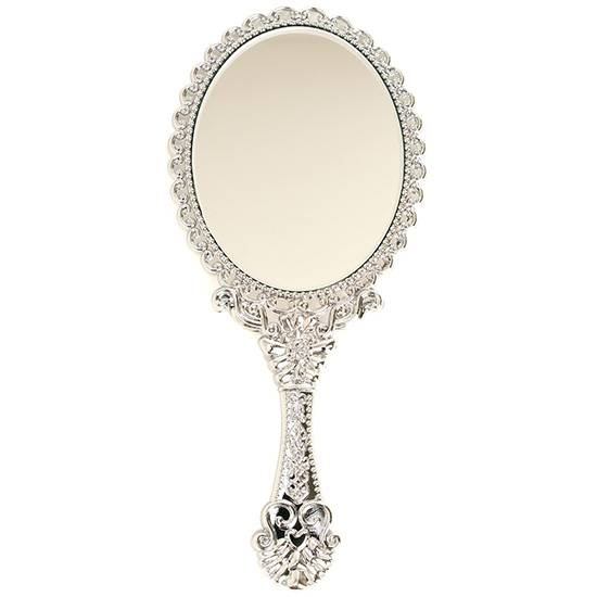 Inspiration about Girls Vintage Style Mini Vanity Hand Held Mirror Cute Princess Intended For Decorative Hand Mirrors (#2 of 15)