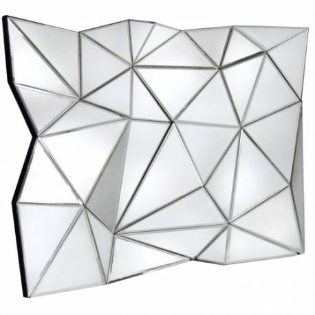 Inspiration about Glacier Iceberg Abstract Wall Mirror – Forever Furnishings For Abstract Wall Mirrors (#7 of 15)