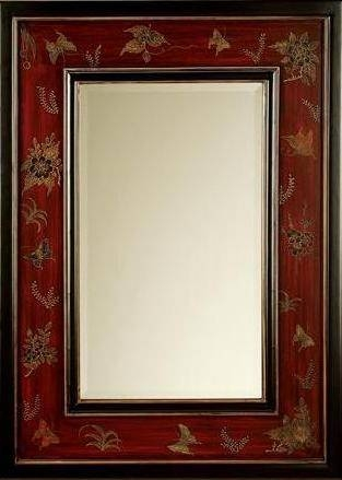 Inspiration about Glamorous 70+ Red Wall Mirror Decorating Design Of Red Wall Mirror Pertaining To Red Framed Wall Mirrors (#5 of 15)