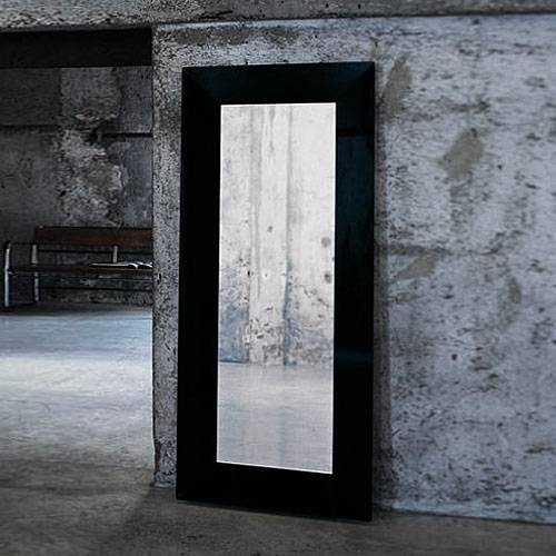 Inspiration about Glas Italia Aura Modern Wall Or Standing Mirrorricardo Dalisi Intended For Standing Wall Mirrors (#3 of 15)