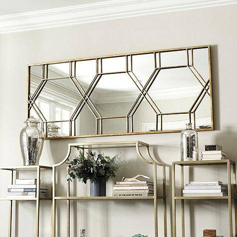 Gold Geometric Wall Mirror – Products, Bookmarks, Design Regarding Geometric Wall Mirrors (#6 of 15)