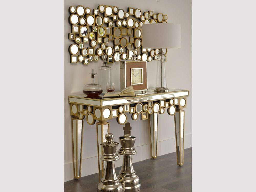 Gold Mirror Wall Art : Doherty House – Wonderful Interior Mirror Regarding Wall Mirrors With Art (#7 of 15)