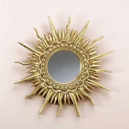Inspiration about Gold Plated Sun Ray Mirror Within Sun Ray Wall Mirrors (#11 of 15)