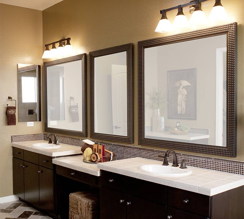 Inspiration about Gorgeous Bath Vanity Mirrors Custom Bathroom Mirrors Main Rules Regarding Custom Bathroom Vanity Mirrors (#2 of 15)