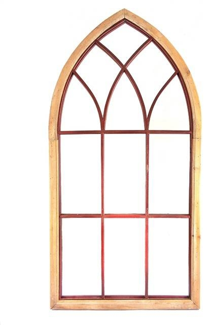 Inspiration about Gothic Cathedral Style Arched Wall Mirror – Mediterranean – Wall For Arch Wall Mirrors (#13 of 15)