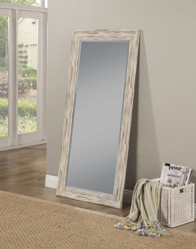 Gracie Oaks Javed Leaning Full Length Mirror & Reviews | Wayfair For Leaning Wall Mirrors (#10 of 15)