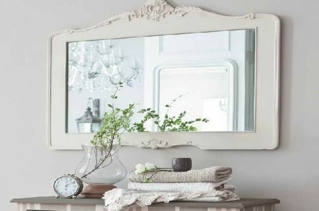 Inspiration about Grand Vintage Style Bathroom Mirrors Innovation Design Antique With Regard To Vintage Style Wall Mirrors (#7 of 15)