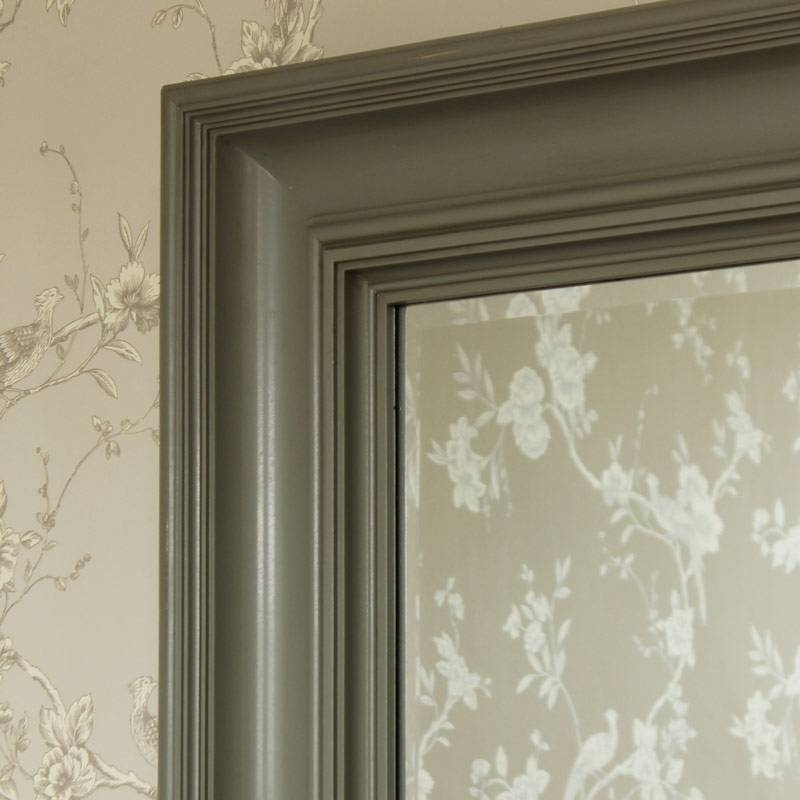Grey Wall Mirror – Melody Maison® Throughout Grey Wall Mirrors (#8 of 15)