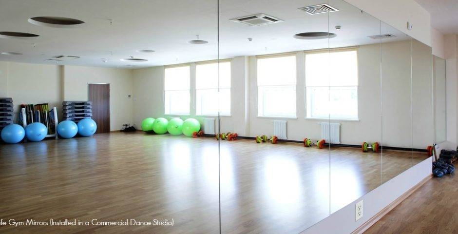 Gym Mirror Installation Guide | Diy Home Dance Studio In Gym Full Wall Mirrors (#10 of 15)
