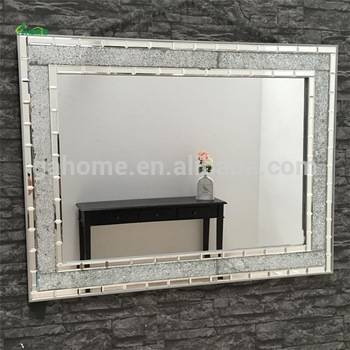 Hand Craft Crystal Wall Mirror Glass Wholesale Tv Mirror – Buy Pertaining To Crystal Wall Mirrors (#6 of 15)