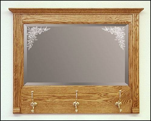 Handcrafted Decorative Mirrors – Decorative Wooden Mirror Pertaining To Etched Wall Mirrors (#7 of 15)