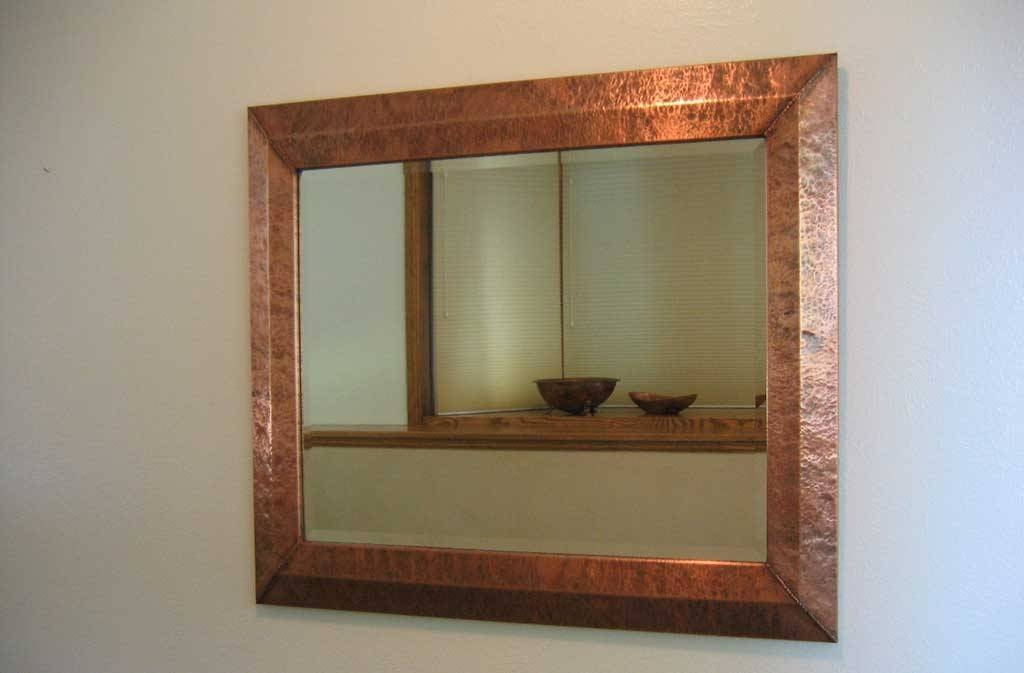 Handmade Custom Copper Mirrors Frames Intended For Frames Mirrors (View 5 of 15)