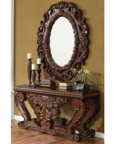 Hd 1800 Homey Design Traditional Wall Mirror Pertaining To Traditional Wall Mirrors (#13 of 15)