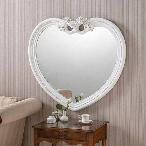 Inspiration about Heart Shaped Mirrors For Heart Shaped Wall Mirrors (#12 of 15)