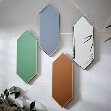 Hexagon Wall Mirror | West Elm Intended For Hexagon Wall Mirrors (View 9 of 15)