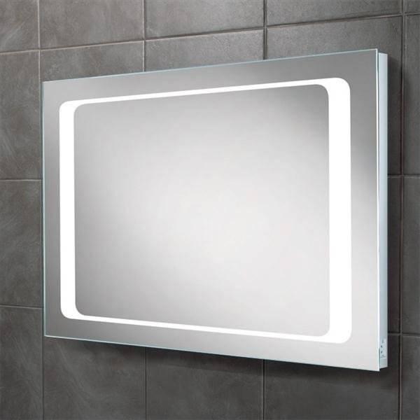 Hib Axis Landscape Led Back Lit Bathroom Mirror With Regard To Led Lit Bathroom Mirrors (#9 of 15)