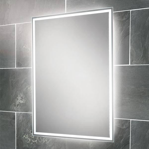 Hib Ella Led Back Lit Bathroom Mirror Pertaining To Led Lit Bathroom Mirrors (#10 of 15)
