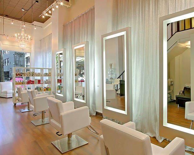 High Style Hair Salons   Salons, Elle Decor And Salon Ideas Regarding Salon Wall Mirrors (View 8 of 15)