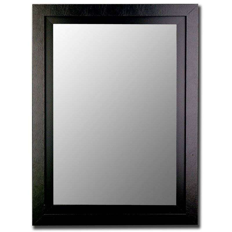 Hitchcock Butterfield Company Contemporary Wide Black Wall Mirror In Contemporary Black Wall Mirrors (#10 of 15)
