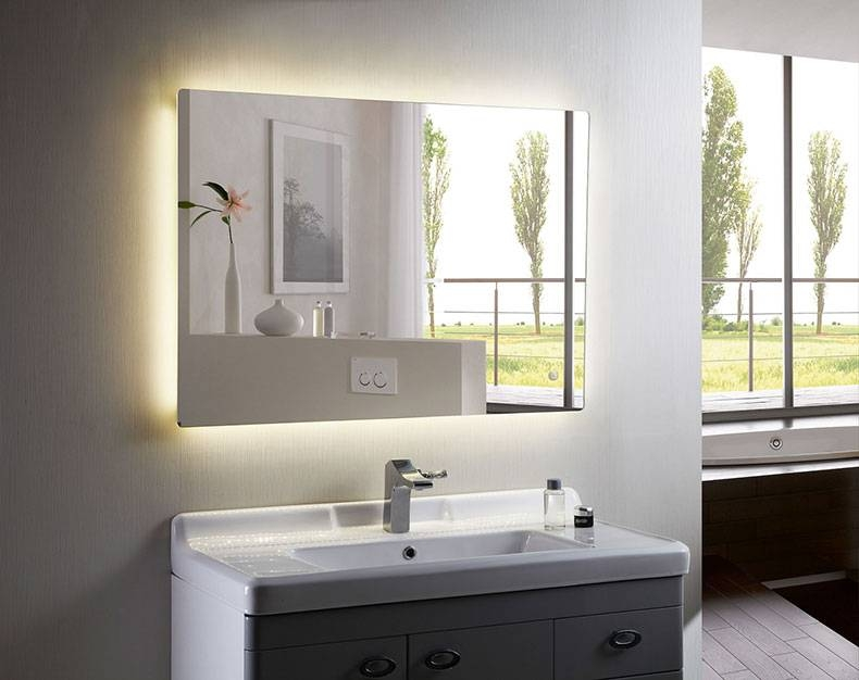Home Decor And Bathroom Furniture Blog – 10 Benefits Of Choosing For Lighted Wall Mirrors For Bathrooms (View 14 of 15)