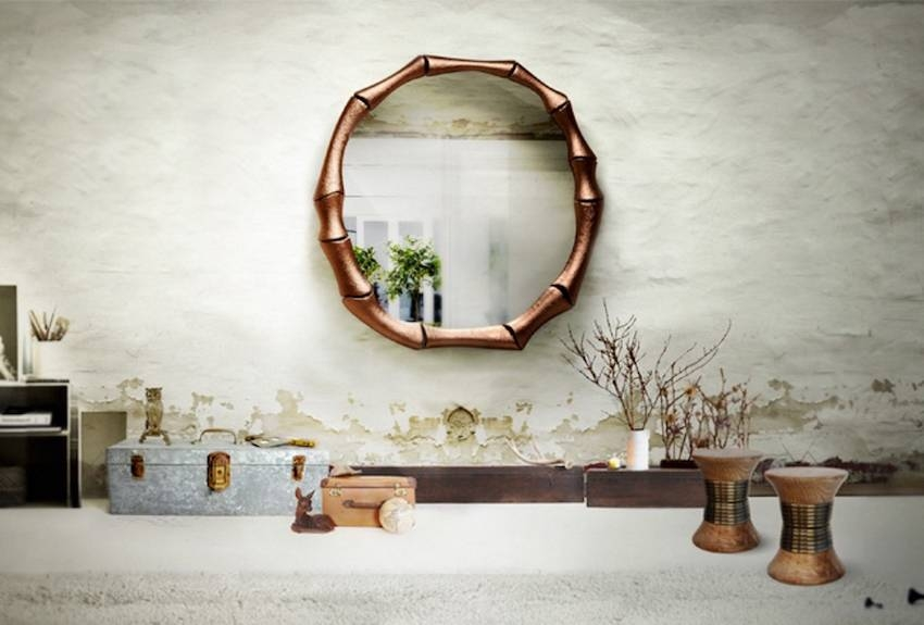 Home Decor Wall Mirrors Implausible 10 Unique Mirror Designs To In Unique Wall Mirror Decors (View 7 of 15)