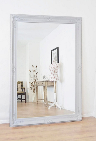 Home Decor With Wall Mirrors In Full Length Wall Mounted, Gym Throughout Large White Wall Mirrors (#12 of 15)