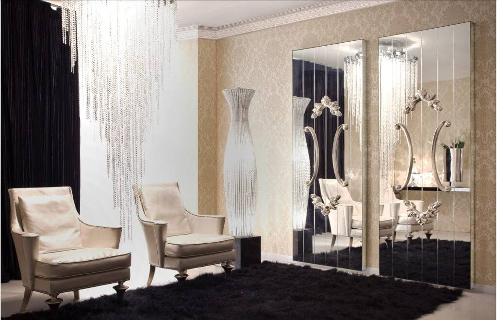 Home Decoration: Avoiding Mirror Wall Decor: When And Where Within Expensive Wall Mirrors (View 4 of 15)