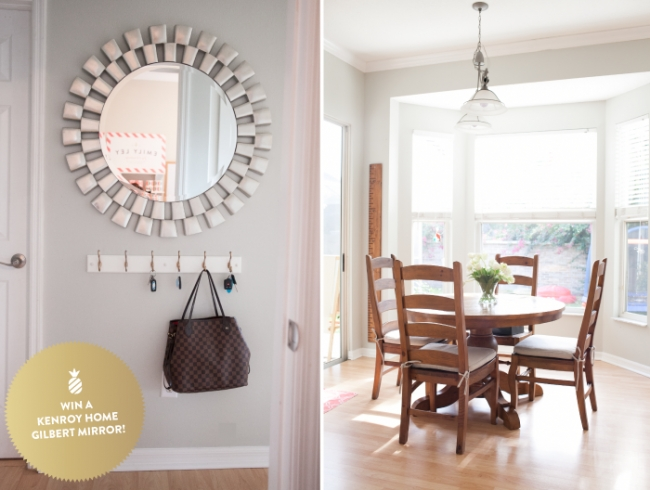 Home Tour, Part Ii + A Giveaway From Kenroy Home! | Emily Ley Within Gilbert Wall Mirrors (#6 of 15)