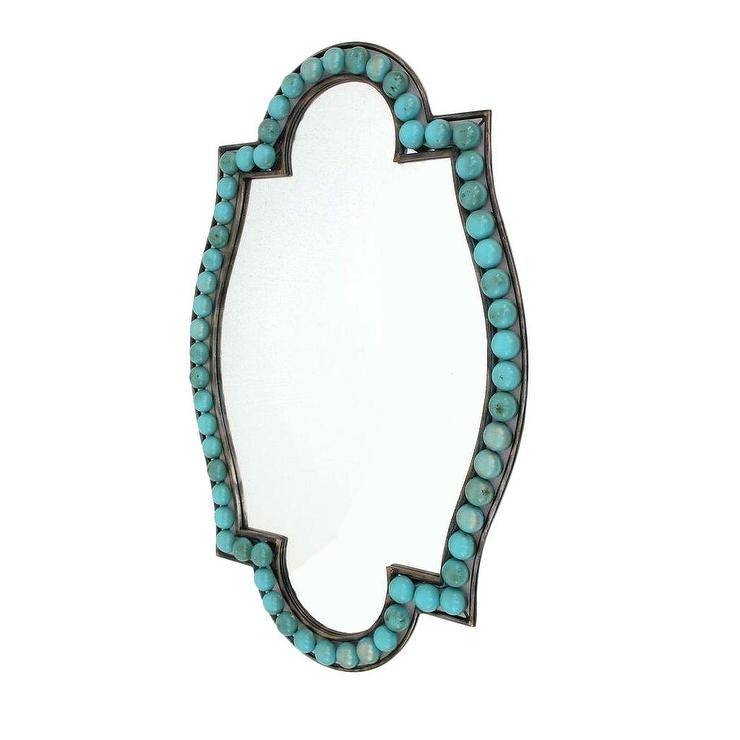 Home Turquoise Wall Mirror For Turquoise Wall Mirrors (#9 of 15)