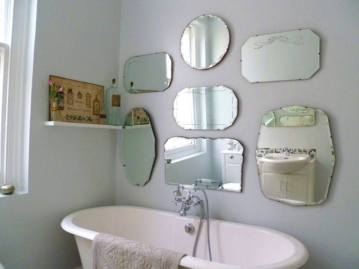 Homely Ideas Hanging Wall Mirrors Bathroom Mirror How To Hang A For Hanging Wall Mirrors For Bathroom (View 5 of 15)