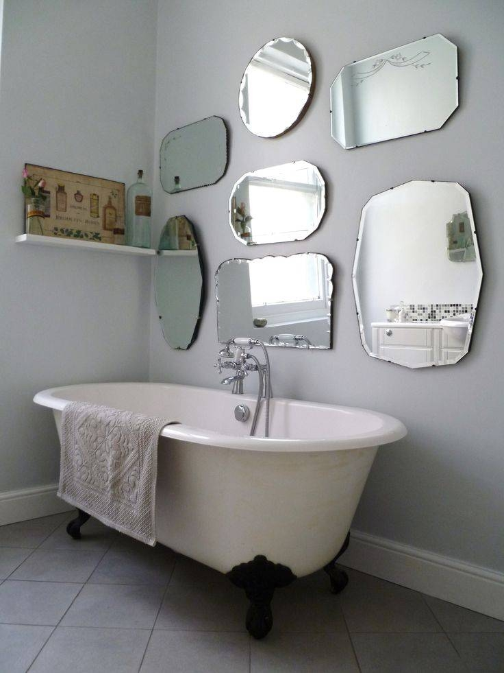 Homely Ideas Hanging Wall Mirrors Bathroom Mirror How To Hang A Intended For Hanging Wall Mirrors For Bathroom (View 2 of 15)