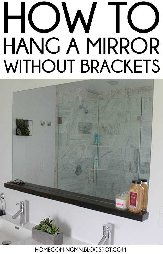 Homely Ideas Hanging Wall Mirrors Bathroom Mirror How To Hang A Pertaining To Hanging Wall Mirrors (View 12 of 15)