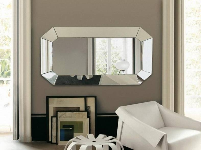 15 Collection Of Horizontal Decorative Wall Mirrors