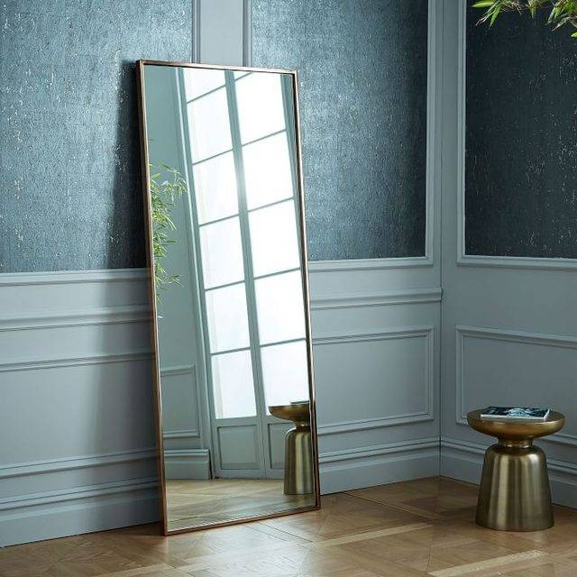 How To Secure A Leaning Mirror To A Wall | Hunker Throughout Leaning Wall Mirrors (#11 of 15)