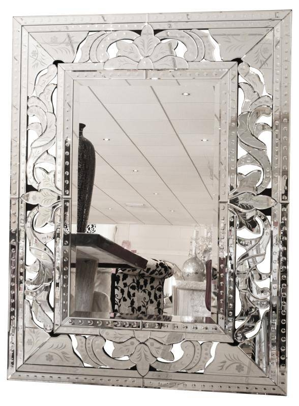 Huge Framed Silver Venetian Wall Mirror | Mulberry Moon Inside Silver Wall Mirrors (#7 of 15)