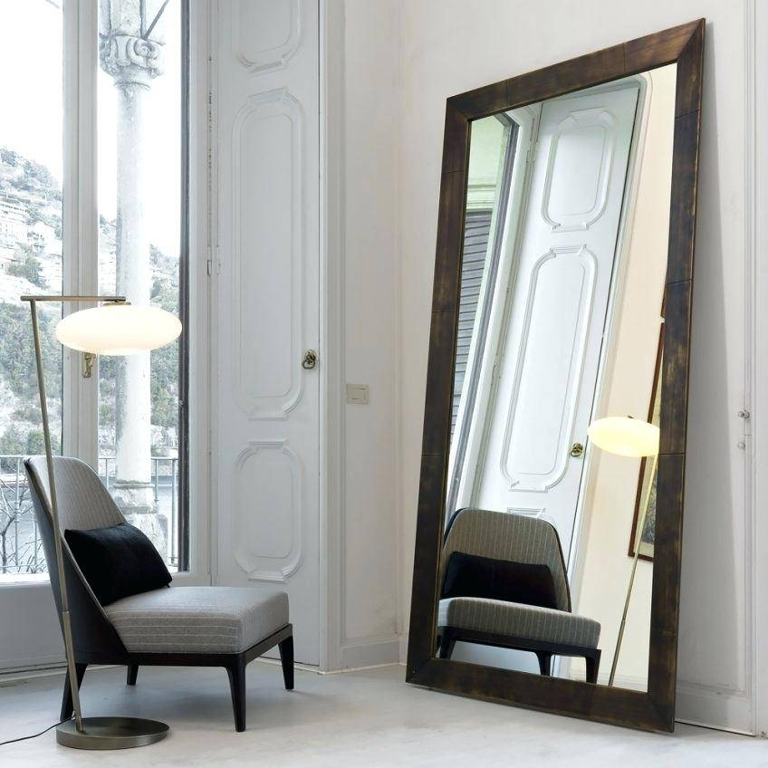 15 Photo Of Standing Wall Mirrors