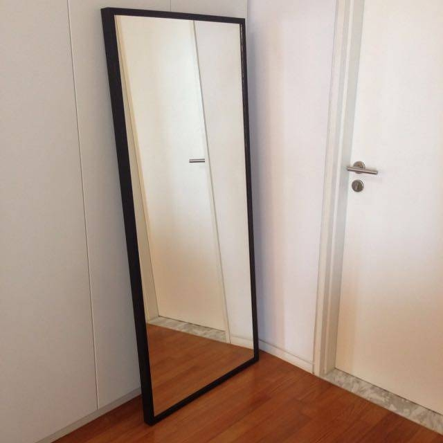 Ikea Stave] Stave Mirror Black Brown 15 34X63 Ikea Comes With With Ikea Wall Mirrors (#7 of 15)