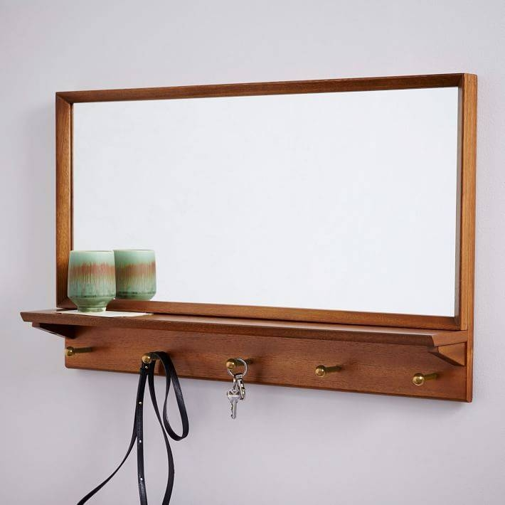 Imposing Decoration Mid Century Wall Mirror Well Suited 17 Best With Mirrors