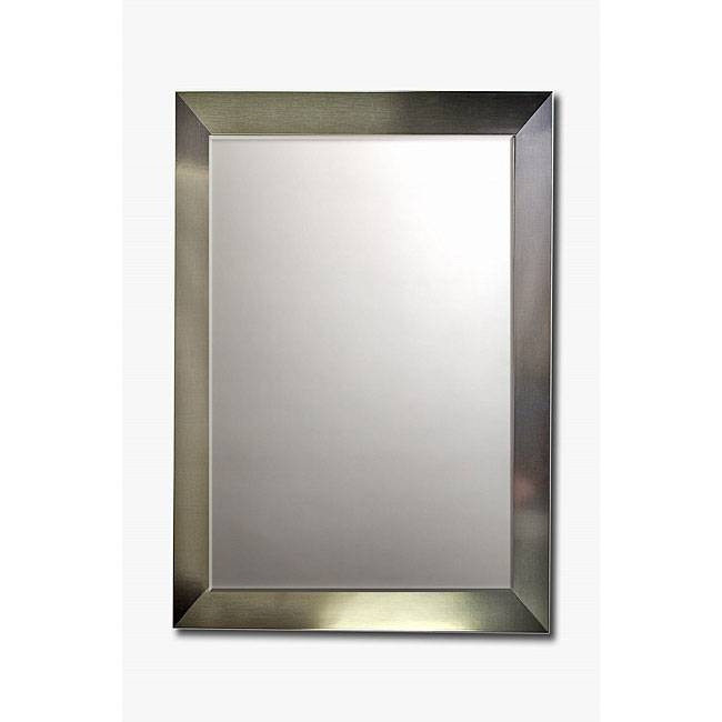 Popular Photo of Stainless Steel Wall Mirrors