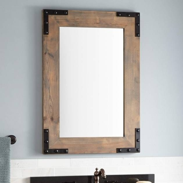 Incredible Cherry Wood Framed Wall Mirrors Framed Bathroom Mirrors For Cherry Wood Framed Wall Mirrors (#9 of 15)