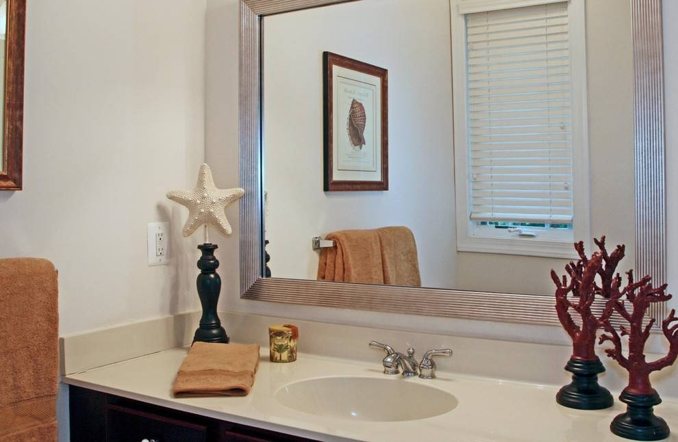 Incredible Large Framed Wall Mirrors Decorating Ideas Gallery In With Frames For Bathroom Wall Mirrors (#11 of 15)