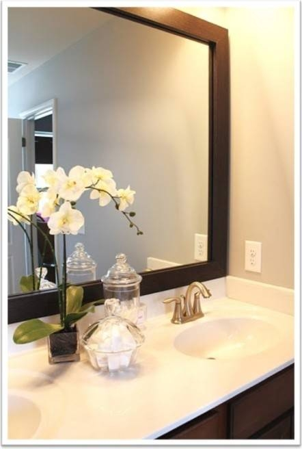 Incredible Large Framed Wall Mirrors Decorating Ideas Gallery In With Regard To Large Framed Wall Mirrors (#9 of 15)