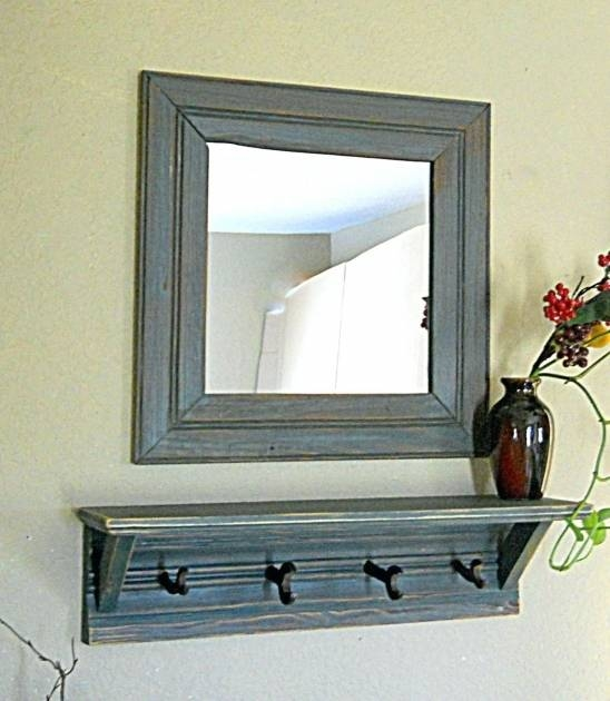 Incredible White Wall Mirror With Hooks Wall Mirrors Ikea – Mirror With White Wall Mirrors With Hooks (#4 of 15)