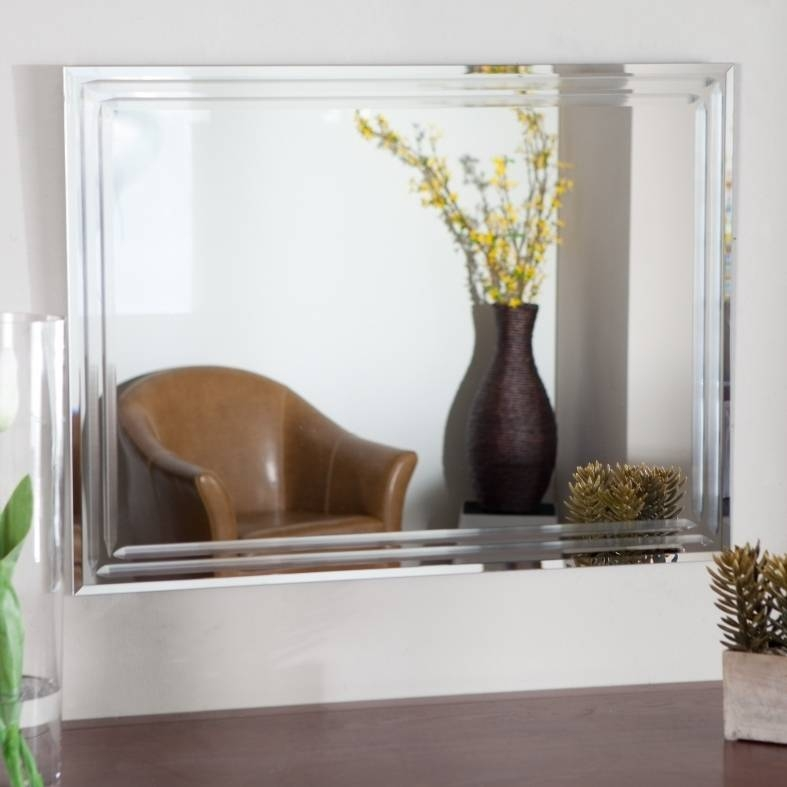 Infinity Frameless Wall Mirror | Mirrors Designs And Ideas Within Infinity Frameless Wall Mirrors (#9 of 15)