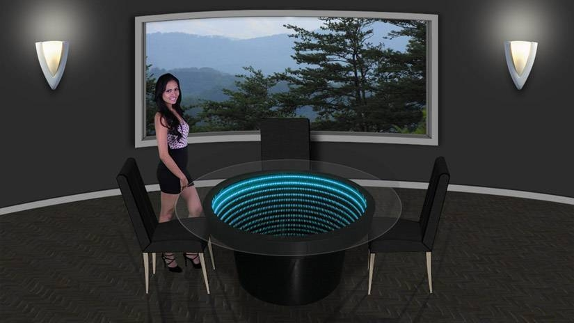Infinity Mirror Wall Displays And Infinity Mirror Tables Inside Infinity Wall Mirrors (#8 of 15)