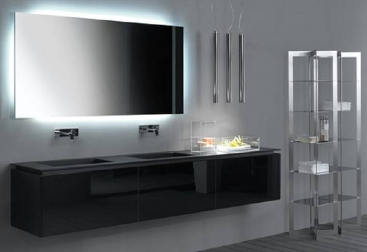 Innovation Inspiration Large Led Bathroom Mirrors Glamorous 2017 With Regard To Led Illuminated Bathroom Mirrors (#12 of 15)