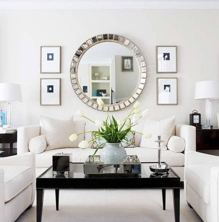 Inspired Living Room Wall Mirror Design Ideas | Trends4Us For Large Living Room Wall Mirrors (#6 of 15)
