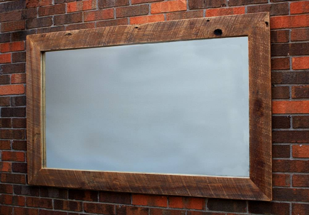 Inspiring Large Wood Framed Wall Mirrors 98 For Home Designing With Large Wall Mirrors With Wood Frame (View 10 of 15)