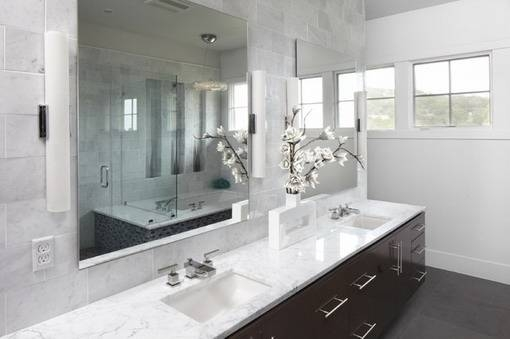 Interesting 50+ Wall Mirrors For Bathrooms Design Decoration Of In Large Wall Mirrors For Bathroom (#13 of 15)